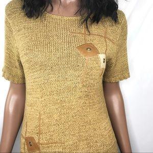 Retro Crochet Sweater
